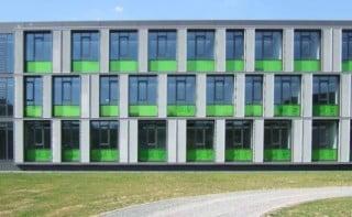 Fassade der Fakultät Informatik