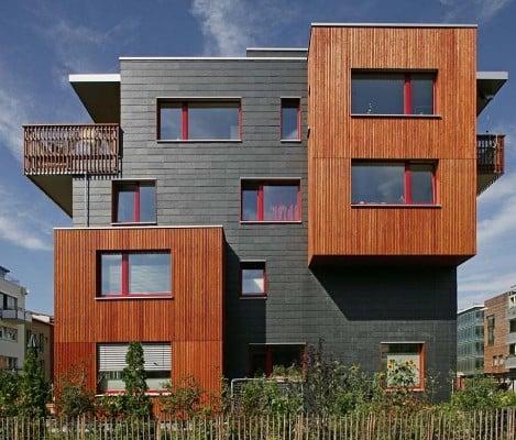 mehrfamilienhaus in freiburg schiefer wohnen mfh. Black Bedroom Furniture Sets. Home Design Ideas