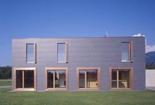 Wohnhaus In Dornbirn Fassade Wohnen Baunetz Wissen