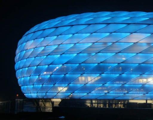 Allianz Arena in München | Fassade | Sport/Freizeit | Baunetz_Wissen