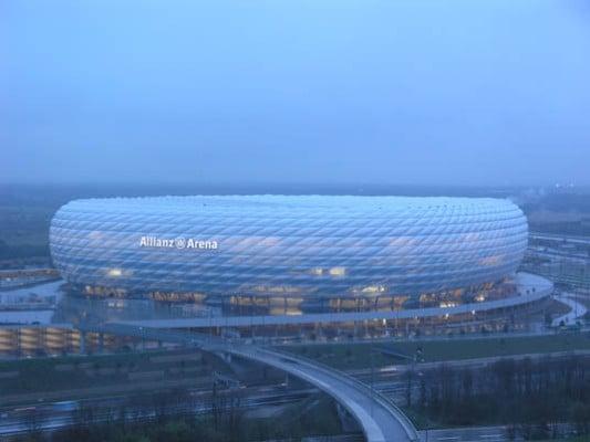 Allianz Arena In München Fassade Sportfreizeit Baunetzwissen