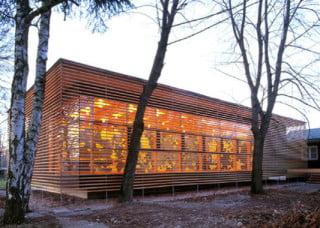 Kamppi Kapelle Der Stille In Helsinki Fassade