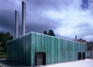 Kantine Des Taucherausbildungszentrum In Percha Fassade