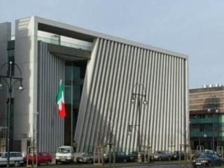 Ansicht der Hauptfassade