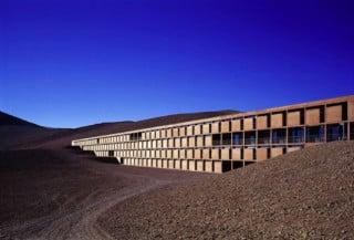 Zivilisation in die Wüste integriert