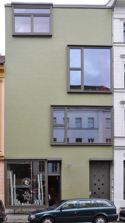 Grünes Haus in Berlin | Fliesen und Platten | Wohnen | Baunetz_Wissen