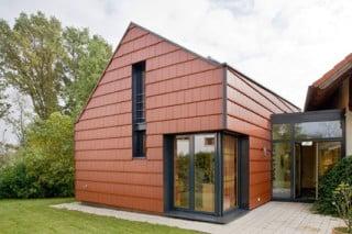 wohnhaus mit b ro in wachtberg villip geneigtes dach wohnen baunetz wissen. Black Bedroom Furniture Sets. Home Design Ideas