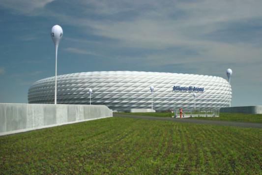 Allianz Arena In München Gebäudetechnik Freizeitsport