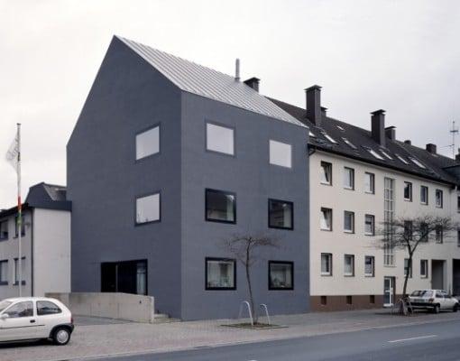 mehrfamilienhaus in dortmund h rde mauerwerk wohnen mfh baunetz wissen. Black Bedroom Furniture Sets. Home Design Ideas