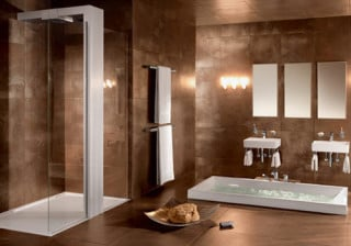 ebene duschwanne aus mineralguss bad und sanit r news produkte baunetz wissen. Black Bedroom Furniture Sets. Home Design Ideas