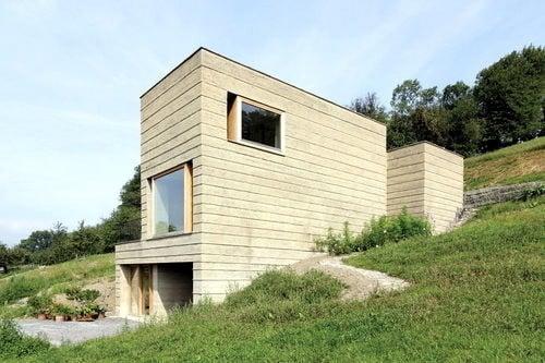 Wohnhaus aus Lehm in Schlins | Nachhaltig Bauen | Wohnen ...