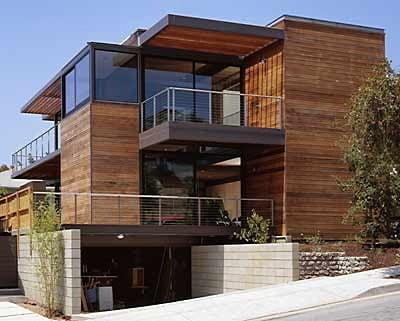 Fertighaus in Santa Monica/USA   Solar   Wohnen   Baunetz_Wissen