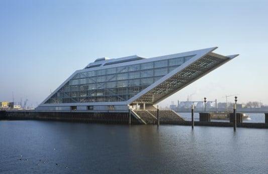 Bürogebäude Dockland in Hamburg