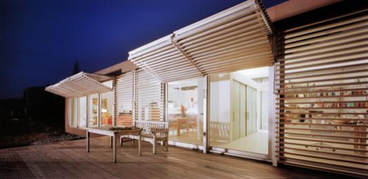 villa in rhenen nl sonnenschutz wohnen baunetz wissen. Black Bedroom Furniture Sets. Home Design Ideas