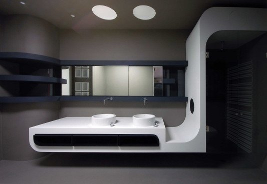 loftland in berlin bad und sanit r wohnen baunetz wissen. Black Bedroom Furniture Sets. Home Design Ideas