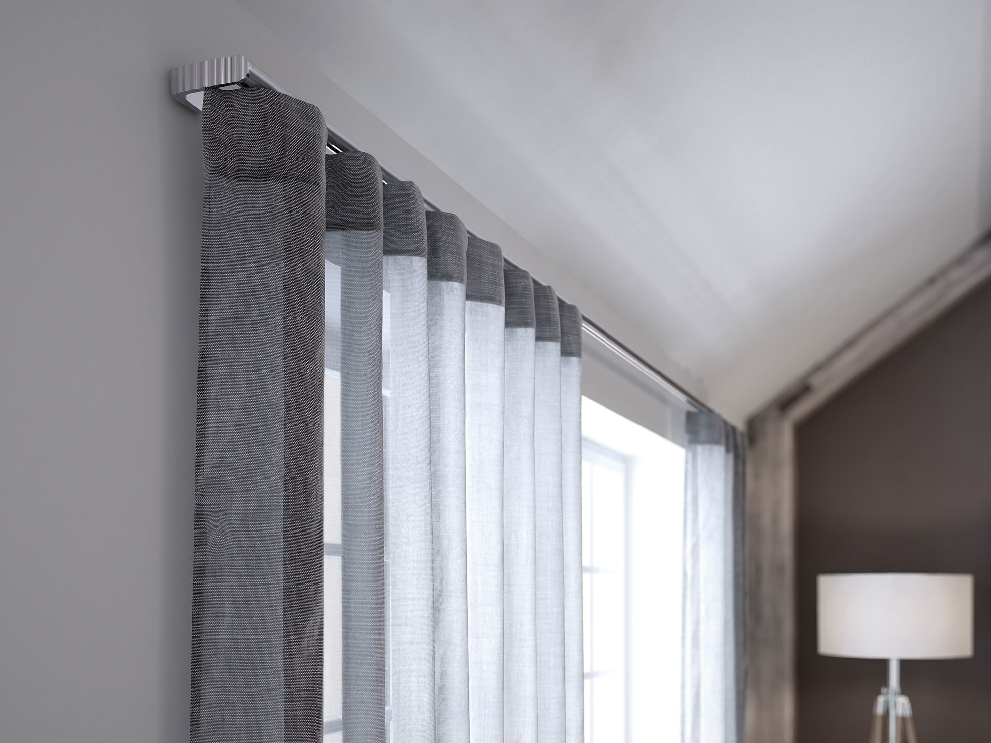 vorh nge sonnenschutz textilien baunetz wissen. Black Bedroom Furniture Sets. Home Design Ideas