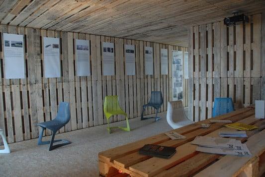 Palettenhaus Nachhaltig Bauen Sonderbauten Baunetz Wissen