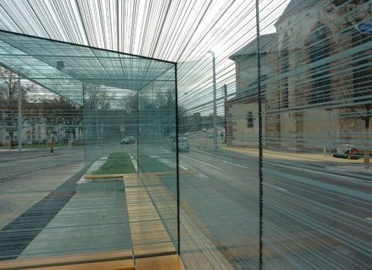bedrucktes glas sonnenschutz verglasungen baunetz wissen. Black Bedroom Furniture Sets. Home Design Ideas
