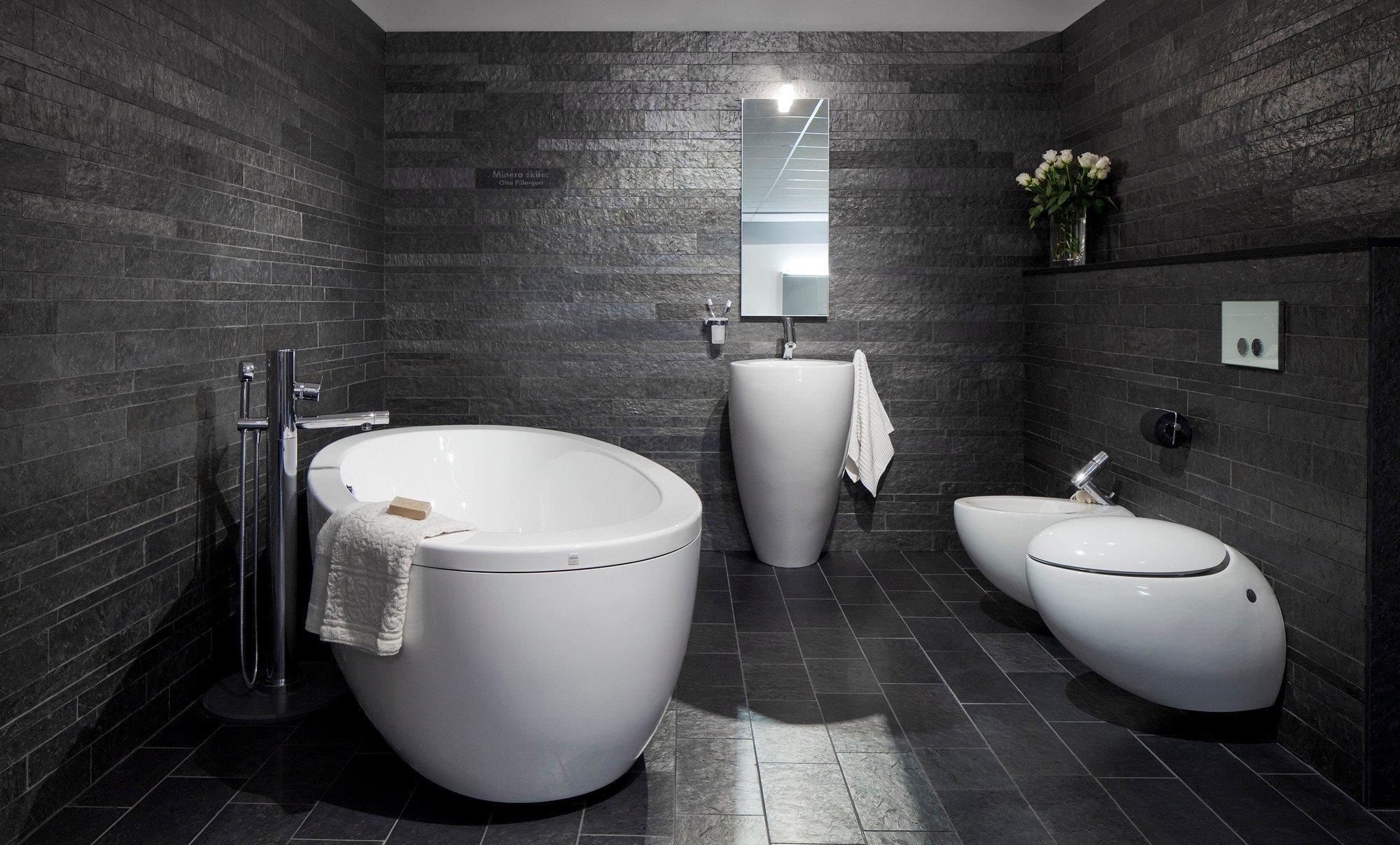 Badezimmer Schiefer schiefer im innen und außenbereich schiefer werkstoff schiefer