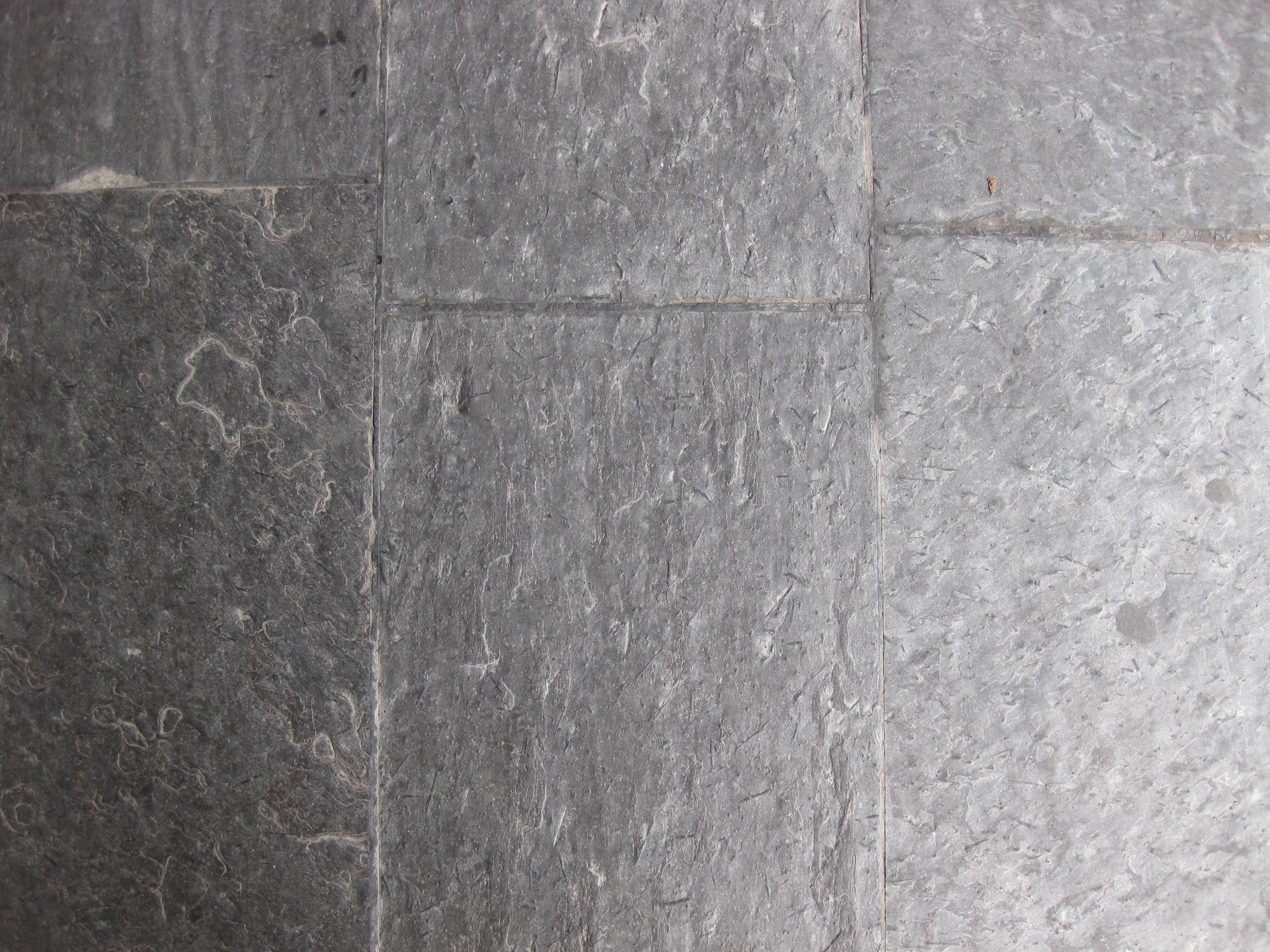Historischer Schieferboden Auf Einem Bahnsteig In Oslo