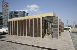 Das Plus-Energie-Haus ist ein Nachbau des Solar Decathlon-Gewinnerhauses 2007