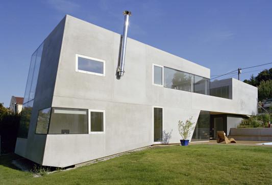 haus p in klosterneuburg a beton wohnen efh baunetz wissen. Black Bedroom Furniture Sets. Home Design Ideas
