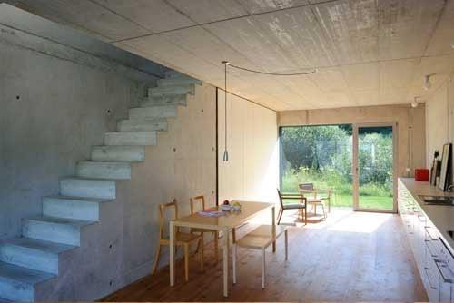 haus b hub in lautrach beton wohnen efh baunetz wissen. Black Bedroom Furniture Sets. Home Design Ideas