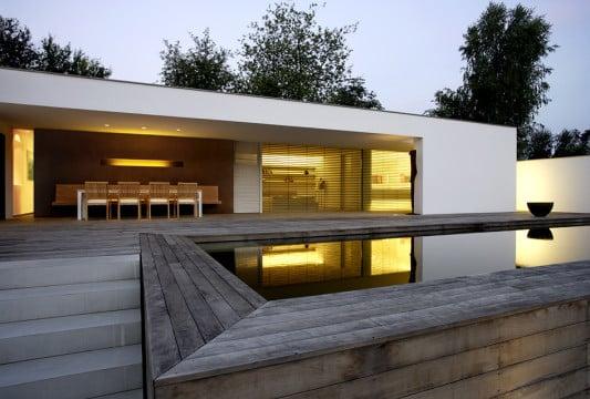 erweiterung eines fachwerkhauses in pilsach flachdach wohnen baunetz wissen. Black Bedroom Furniture Sets. Home Design Ideas