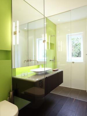 ferienwohnung in caputh bad und sanit r wohnen baunetz wissen. Black Bedroom Furniture Sets. Home Design Ideas