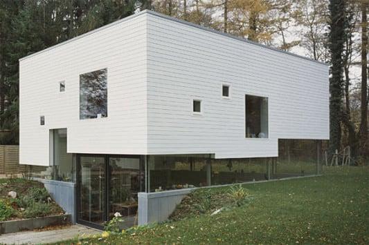 Einfamilienhaus in Hamburg | Dämmstoffe | Wohnen | Baunetz_Wissen