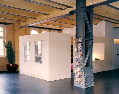 Loftwohnung in einem Umspannwerk in Berlin | Bad und Sanitär ...