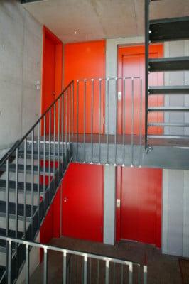 Treppenhaus mehrfamilienhaus  Mehrfamilienhaus in Tübingen | Glas | Wohnen | Baunetz_Wissen
