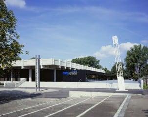 Die Architekten bauten die Hohenstaufenhalle in Göppingen in eine multifunktionale Sport- und Veranstaltungsarena um