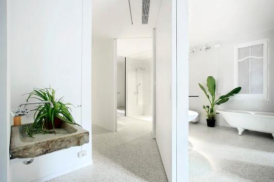 umbau und renovierung einer wohnung in barcelona e bad und sanit r wohnen baunetz wissen. Black Bedroom Furniture Sets. Home Design Ideas