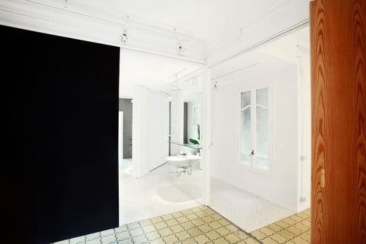 Umbau und Renovierung einer Wohnung in Barcelona/E - Bad ...