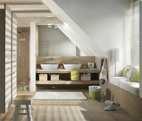 b der im dachgeschoss bad und sanit r planungsgrundlagen baunetz wissen. Black Bedroom Furniture Sets. Home Design Ideas