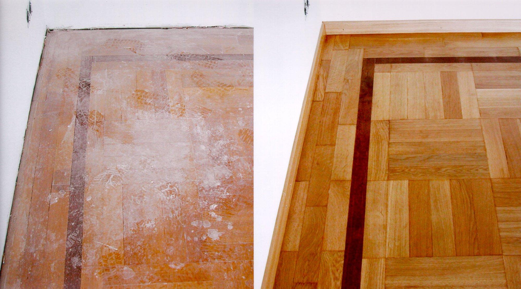 Holzfußboden Lackieren Oder Wachsen ~ Oberflächenbehandlung von parkett boden parkett baunetz wissen