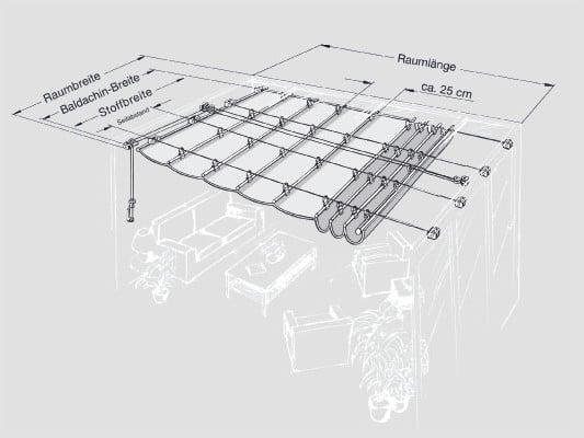 Baldachin Sonnenschutz Glossar Baunetz Wissen