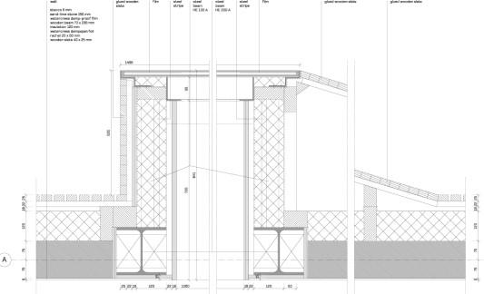 Holzrahmenbau details flachdach  Wohnhaus Bierings in Utrecht | Geneigtes Dach | Wohnen ...