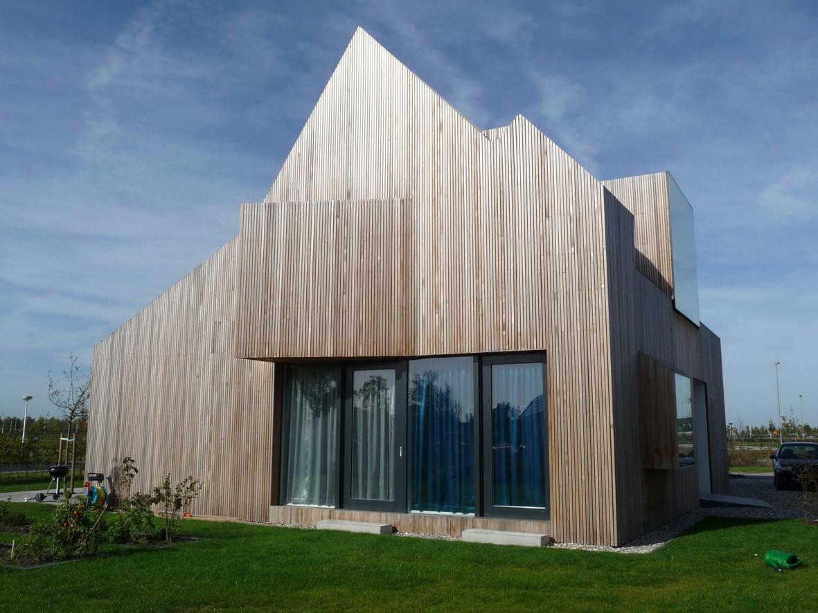 Wohnhaus Bierings in Utrecht | Geneigtes Dach | Wohnen | Baunetz_Wissen