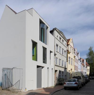 Wohn und atelierhaus in l beck mauerwerk wohnen efh - Architekten lubeck ...