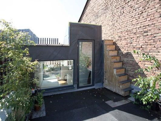 Minihaus als nachverdichtung in frankfurt am main for Minihaus bauen