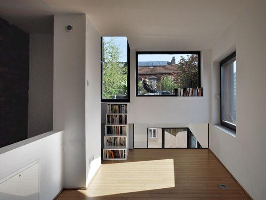 minihaus als nachverdichtung in frankfurt am main nachhaltig bauen wohnen baunetz wissen. Black Bedroom Furniture Sets. Home Design Ideas