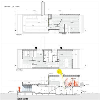 hausboot freischwimmer in hamburg heizung wohnen baunetz wissen. Black Bedroom Furniture Sets. Home Design Ideas