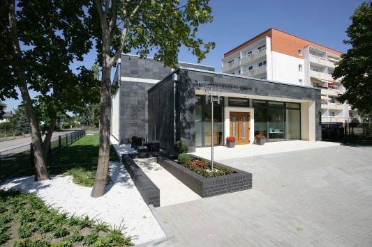 Fußboden Verlegen Oranienburg ~ Gemeindehaus in oranienburg schiefer kultur bildung baunetz wissen