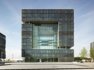 Mittelpunkt des neuen Quartiers bildet die Q1 genannte Firmenzentrale