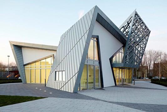 Villa Libeskind in Datteln | Heizung | Sonderbauten | Baunetz_Wissen
