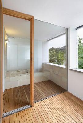 Japanisches Bad wohnhaus in ottobrunn mauerwerk wohnen efh baunetz wissen