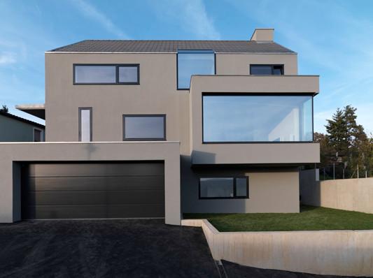 wohnhaus in denkendorf mauerwerk wohnen efh baunetz wissen. Black Bedroom Furniture Sets. Home Design Ideas