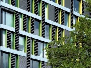 New Blauhaus In M Nchengladbach Fassade B Ro